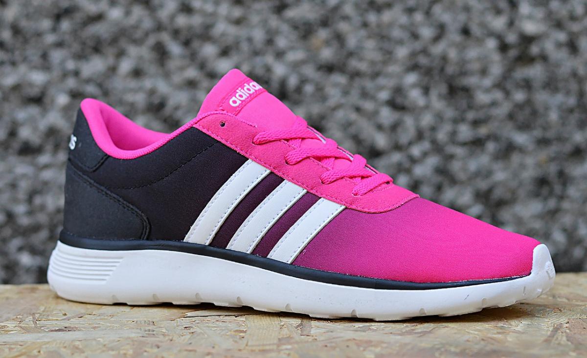adidas lite racer k aw4057 junior damen sportschuhe sneaker ebay. Black Bedroom Furniture Sets. Home Design Ideas