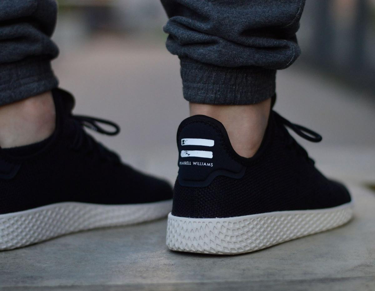 size 40 f8b16 2b473 Price90.00 USD. Brand Adidas Category Sneaker Colour Black Insole 25  - 30.5 cm. Model Pharrell Williams Tennis HU ...