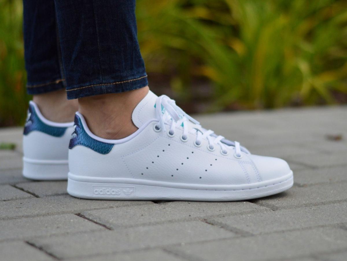 Adidas Stan Smith J B37185 Junior Women s Sneakers   eBay 654842a0aa11