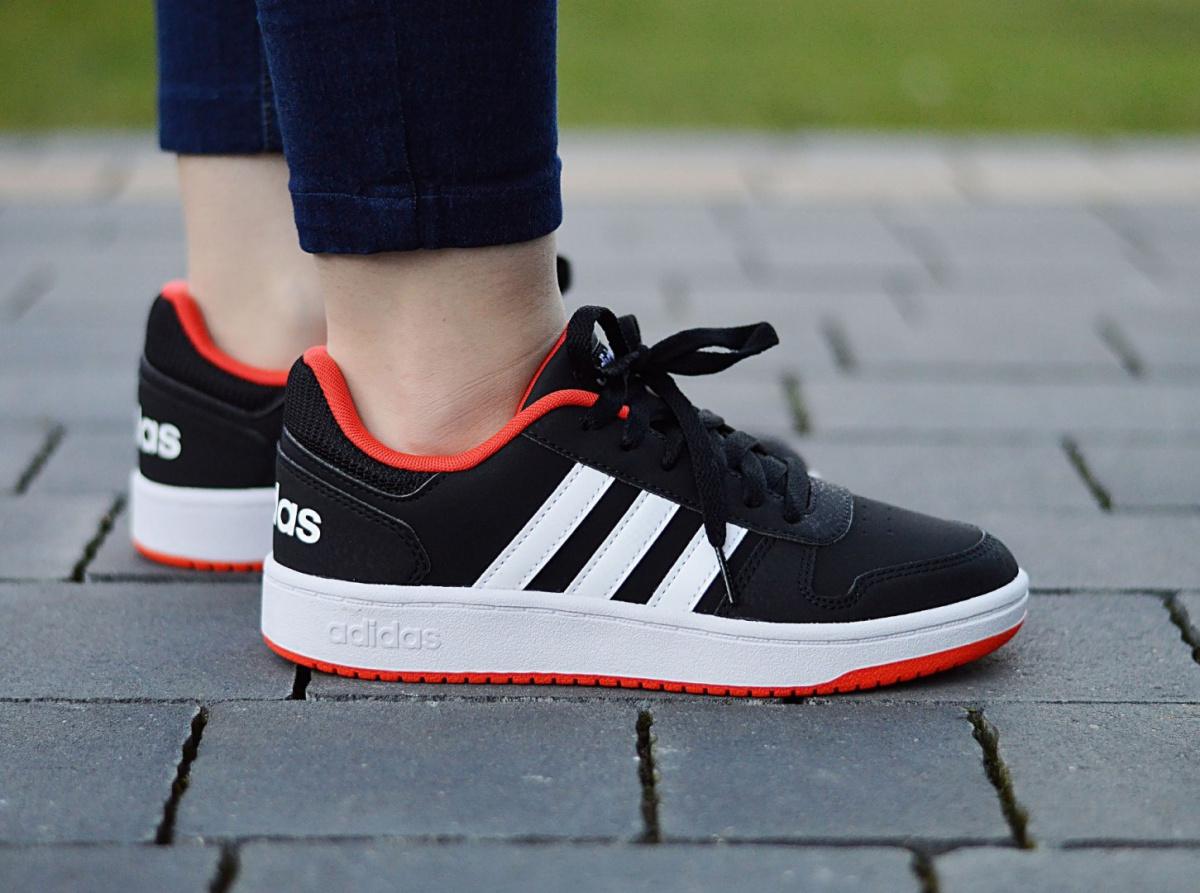 Inmersión Arcaico Cada semana  Adidas Hoops 2.0 K B76067 Junior/Women's Sneakers | eBay