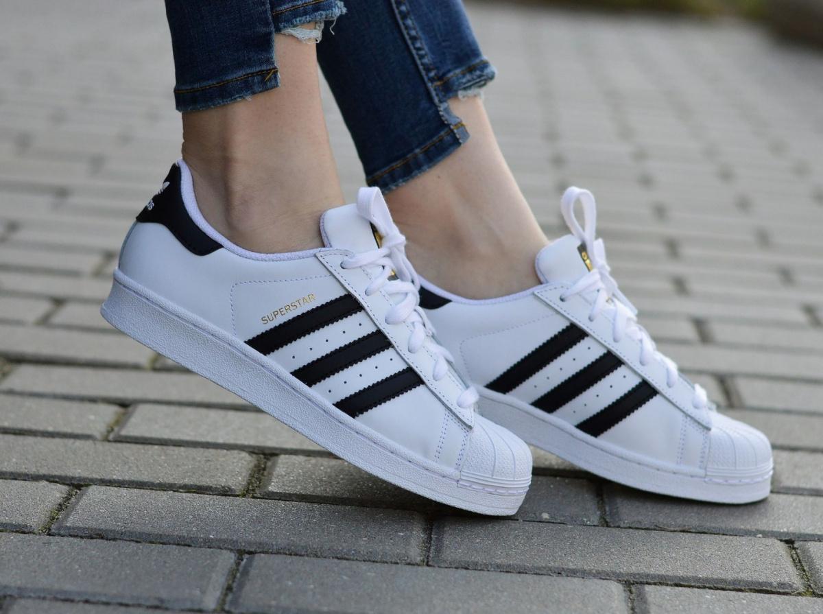 watch f7ffe fbd15 Details about Adidas Superstar J C77154 Junior/Women's Sneakers